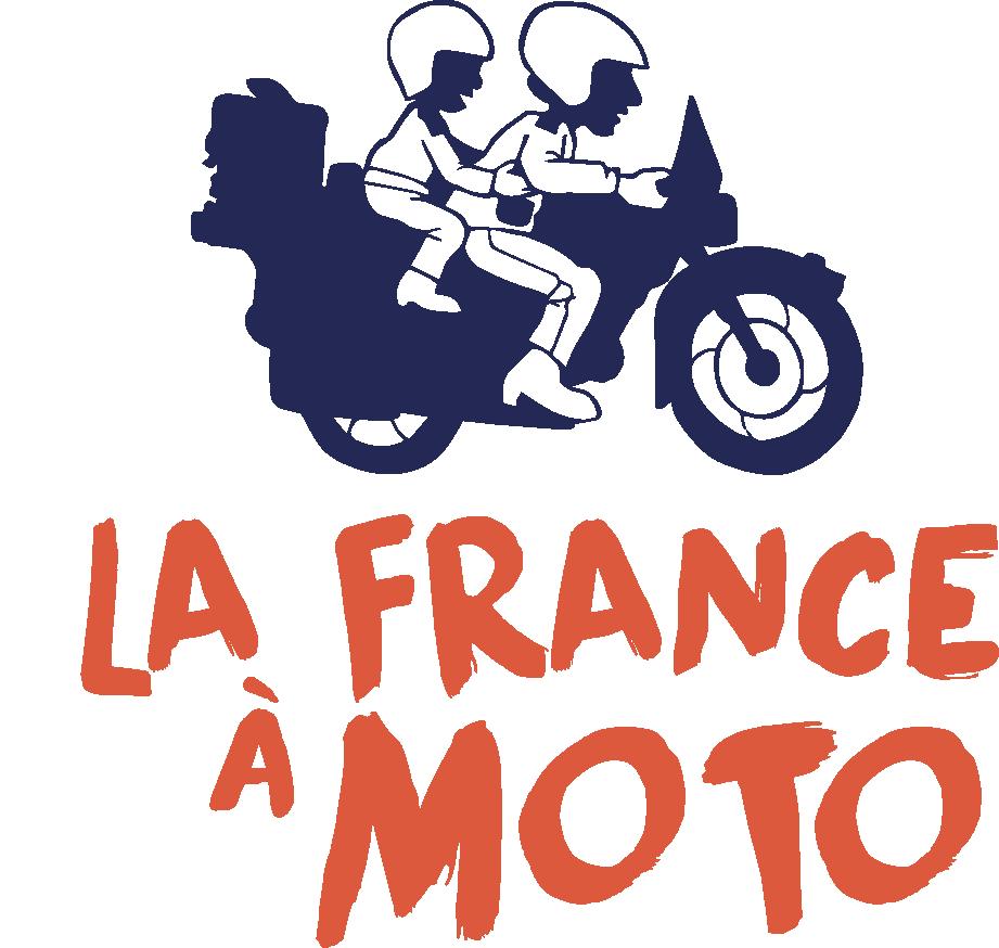Logo la france a moto